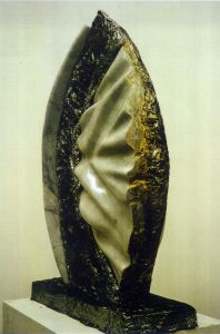 Sculpture 'callas sings kristeva' by Mark Rietmeijer, Sculptor, Stonecarver, Philosopher
