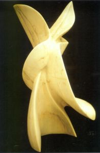 Sculpture 'Tonque & Blade' by Mark Rietmeijer, Sculptor, Stonecarver, Philosopher